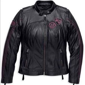 Harley Pink Label Limited Edition Leather Jacket